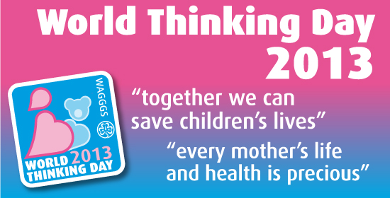 WAGGGS World Thinking Day 2013 logo