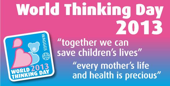 WAGGGS World Thinking Day 2013 logo